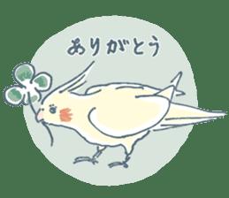 Funiochi the Cockatiel sticker #15026867