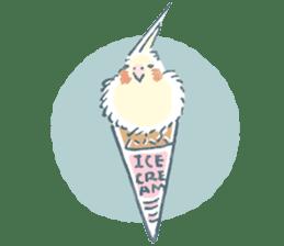 Funiochi the Cockatiel sticker #15026868