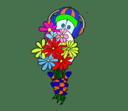 Mr. Nori Peace and Love Messenger sticker #15034079