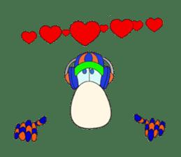 Mr. Nori Peace and Love Messenger sticker #15034088
