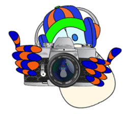 Mr. Nori Peace and Love Messenger sticker #15034092