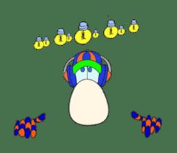 Mr. Nori Peace and Love Messenger sticker #15034093