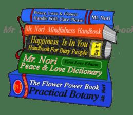 Mr. Nori Peace and Love Messenger sticker #15034113