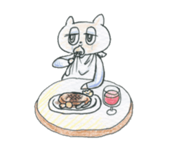 cry emamouse cats sticker #15038690