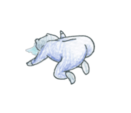 cry emamouse cats sticker #15038692