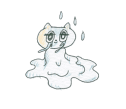 cry emamouse cats sticker #15038709