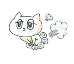 cry emamouse cats sticker #15038714
