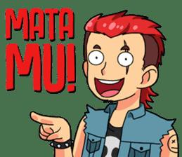 Gondes Pasar Kembang (Javanese Language) sticker #15045323