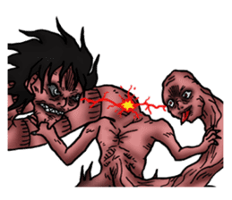 Abajin the Horrible Ghost 2 sticker #15051450