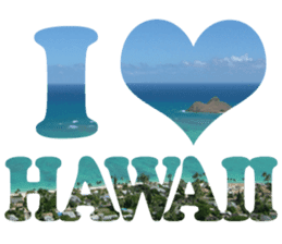I LOVE HAWAII2 sticker #15055196