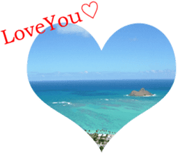I LOVE HAWAII2 sticker #15055201
