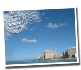 I LOVE HAWAII2 sticker #15055212