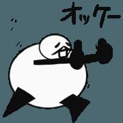 สติ๊กเกอร์ไลน์ Tanimaru uncle animation 2