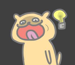 Fat doggy sticker #15061598