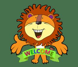 lion rex sticker #15065804