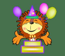 lion rex sticker #15065806