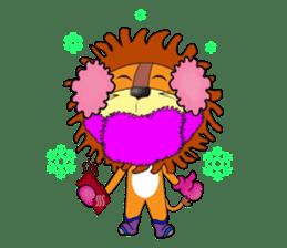 lion rex sticker #15065811
