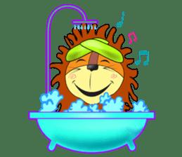 lion rex sticker #15065812