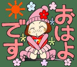 Castor bean-chan 80 sticker #15066924
