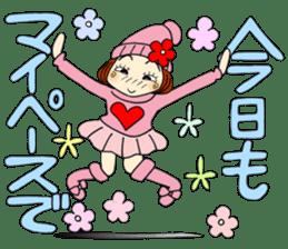 Castor bean-chan 80 sticker #15066929