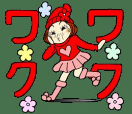 Castor bean-chan 80 sticker #15066935