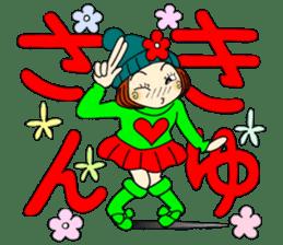 Castor bean-chan 80 sticker #15066941