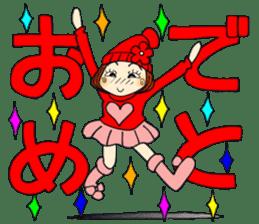Castor bean-chan 80 sticker #15066945