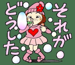 Castor bean-chan 80 sticker #15066949