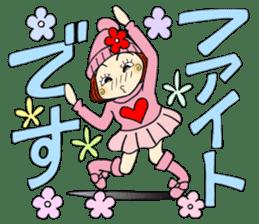 Castor bean-chan 80 sticker #15066954