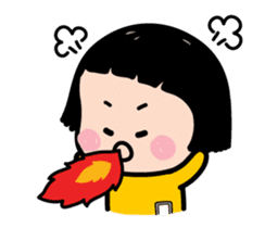 Mobile Girl, MiM - Legend - v2 sticker #15076279