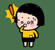 Mobile Girl, MiM - Legend - v2 sticker #15076290