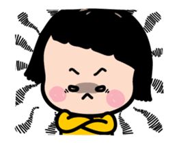 Mobile Girl, MiM - Legend - v2 sticker #15076294