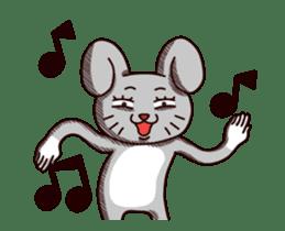 Sketchy Bunny sticker #15112530