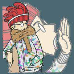 Johnny the weird winter hat