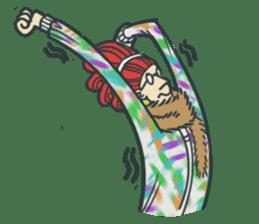 Johnny the weird winter hat sticker #15112547