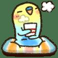 可愛すぎないシリーズの「インコちゃん」 | LINE STORE