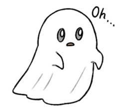 Ghost&boy sticker #15134450
