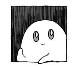 Ghost&boy sticker #15134470