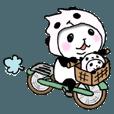 LINEスタンプランキング | パンダinぱんだ(うご2)