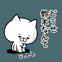 Sticker for negative Suzuki