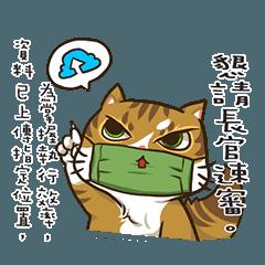 臭い猫のフェイスマスク – 公務員