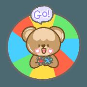 สติ๊กเกอร์ไลน์ Bubble Bear and Sports Day