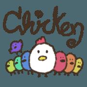 สติ๊กเกอร์ไลน์ Chickennnn
