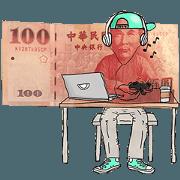 สติ๊กเกอร์ไลน์ money's daily