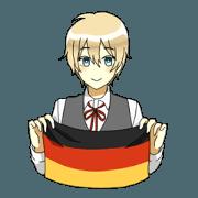 สติ๊กเกอร์ไลน์ Germany Boys