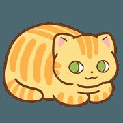 สติ๊กเกอร์ไลน์ Mikan the Cat's Daily