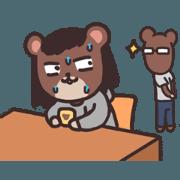 สติ๊กเกอร์ไลน์ Game Company Bears