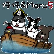 สติ๊กเกอร์ไลน์ Zai Zai & Maru part5