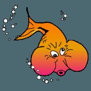 สติ๊กเกอร์ไลน์ Fun Fish 2