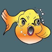 สติ๊กเกอร์ไลน์ Fun Fish 3